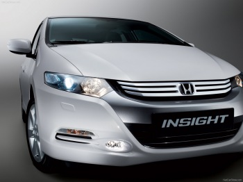 Обои Honda Insight 2010 - Grey Metalic