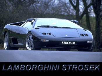 Lamborghini Diablo. Тюнинг Strosek Design GmbH & Co