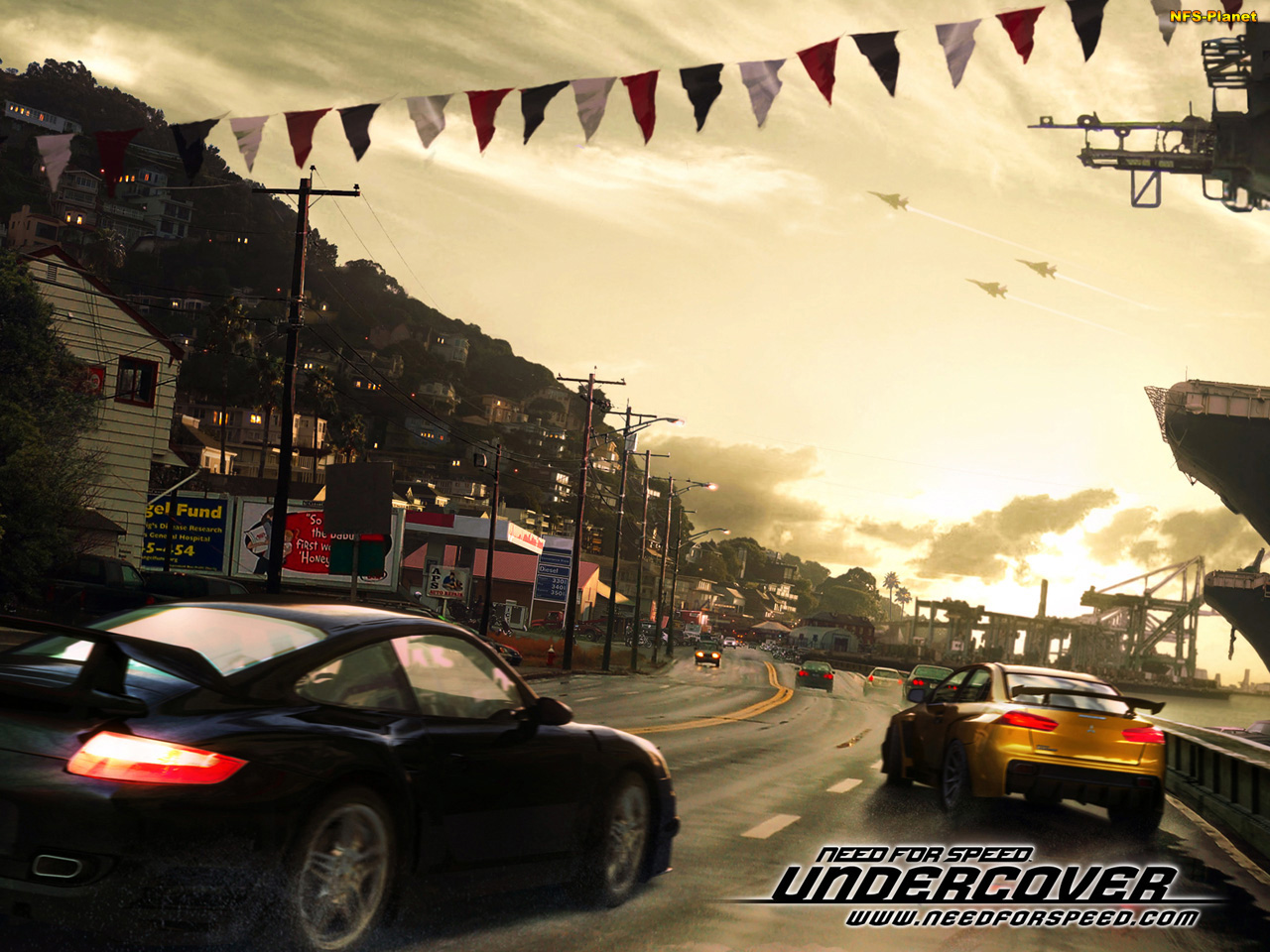 Need For Speed Undercover - обои из игры