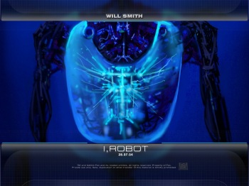 Will Smith - I Robot - обои постеры