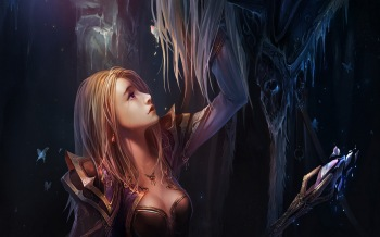 Обои Lady Jaina Proudmoore. World Of Warcraft