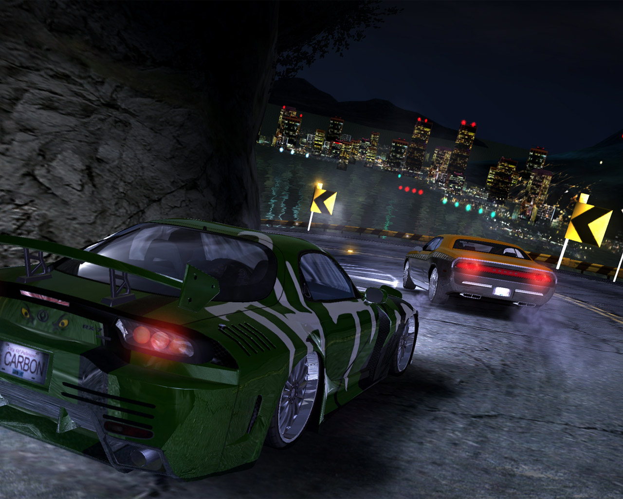 Need For Speed Carbon на рабочий стол / Обои c Need For Speed Carbon