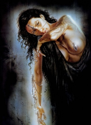 Lois Royo Fantasy Art Drawings