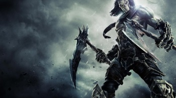 Обои Darksiders II - The Crowfather