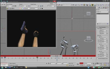 Анимация как в Couter Strike в 3ds max на русском языке / animation in 3d max Couter Strike