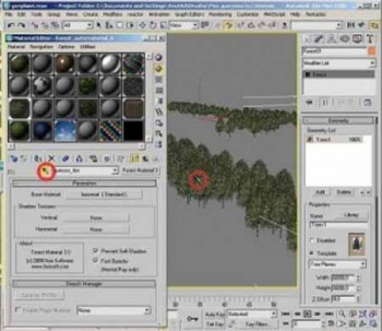 Видеоурок по работе с treestorm плагином для 3ds max / treestorm plugin videotutor for 3ds max